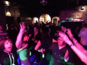 Incriminators dance party at FYBO!